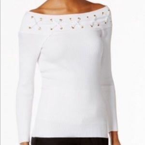MICHAEL Michael Kors Sweaters - Michael Kors shoulder off sweater!